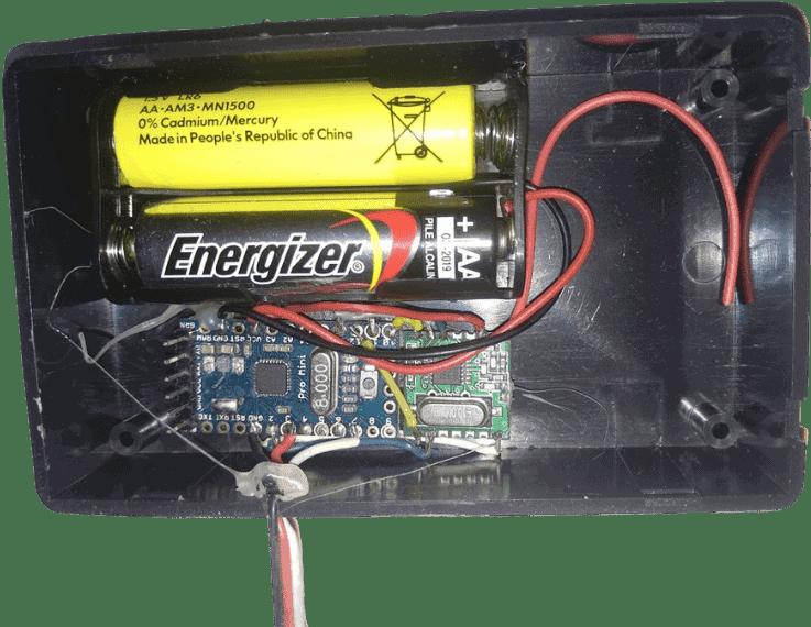 Arduino Gas Meter