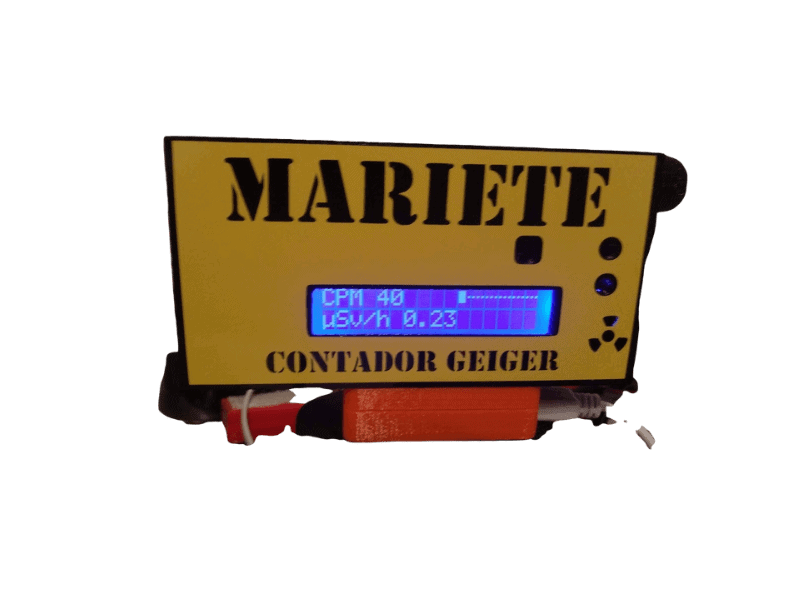 Geiger Home Radioactivity Counter