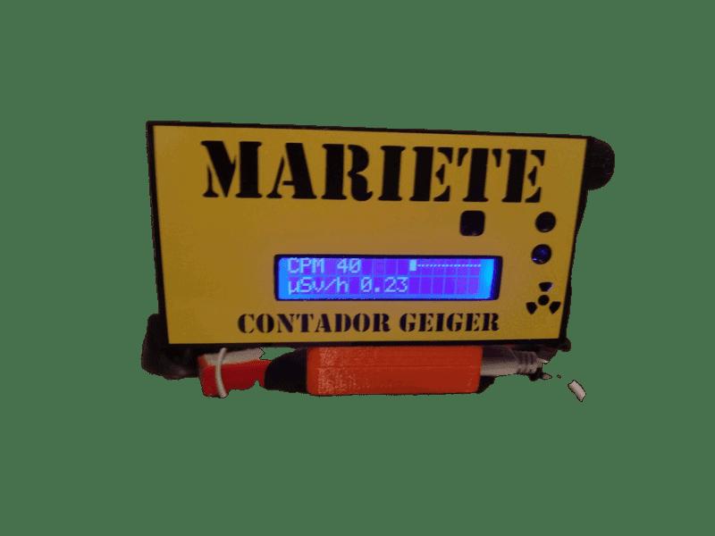 Contador Geiger Casero Radiactividad