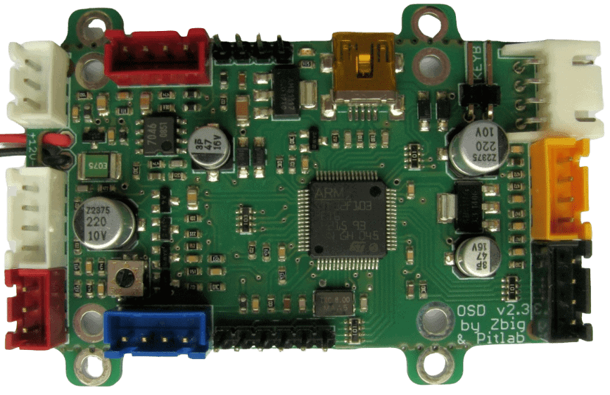 PITLAB, potente autopilot y OSD para aeromodelismo FPV