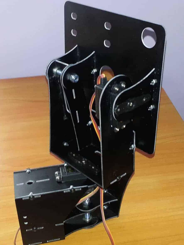Montaje antena tracker FPV Pitlab (seguimiento de antena)