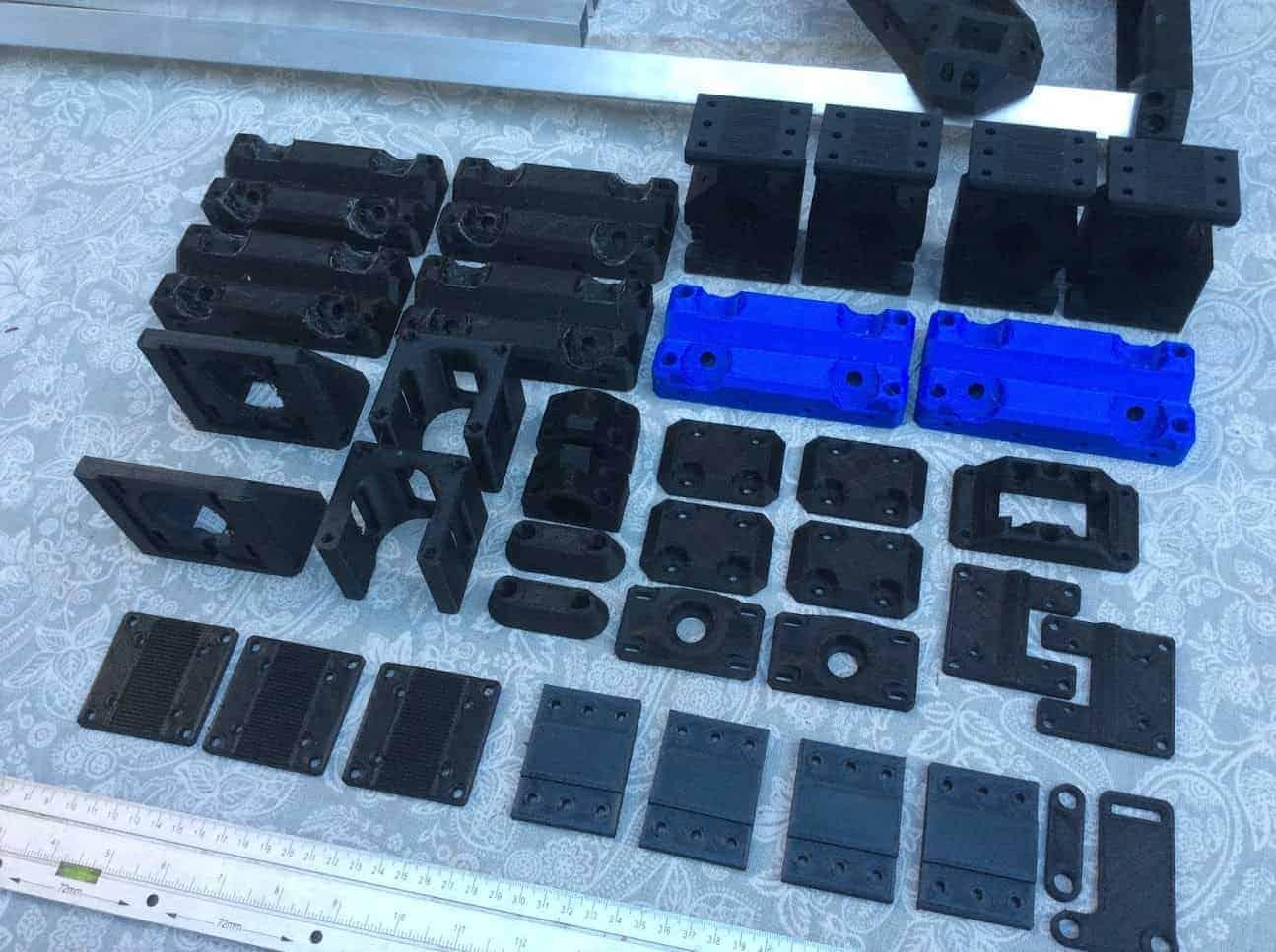 Root 3 CNC Printed Parts