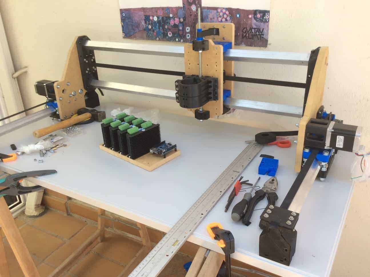 Homemade CNC with Arduino Root 3