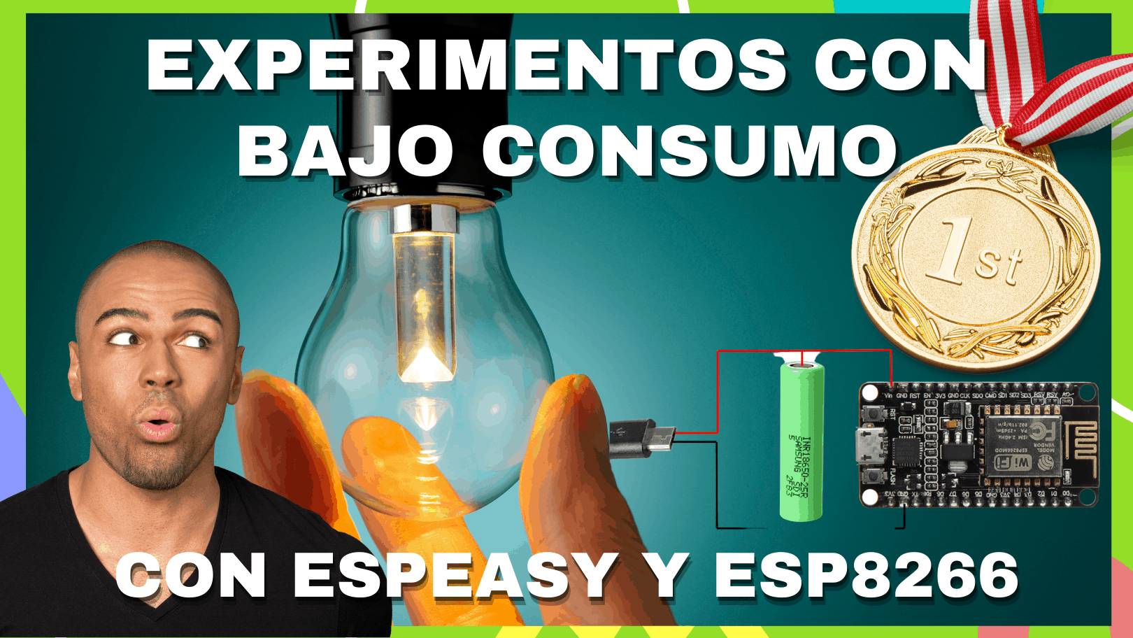 Experimentos con ESP Easy (ESP8266) y bajo consumo - v1.0